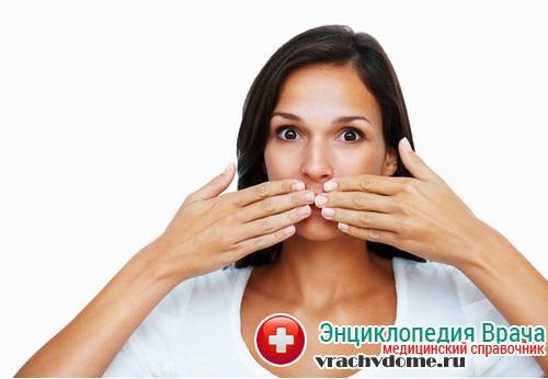 каких заболеваниях запах изо рта