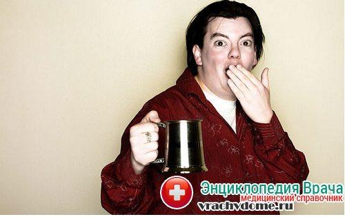Отрыжка - симптомы, причины, лечение
