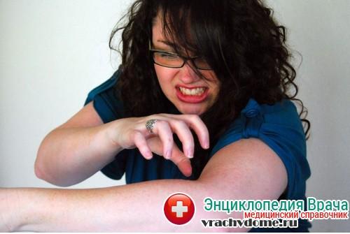 Нейродермит - симптомы, причины, следствие