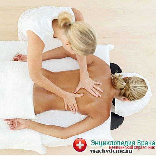 лечебный массаж при люмбаго