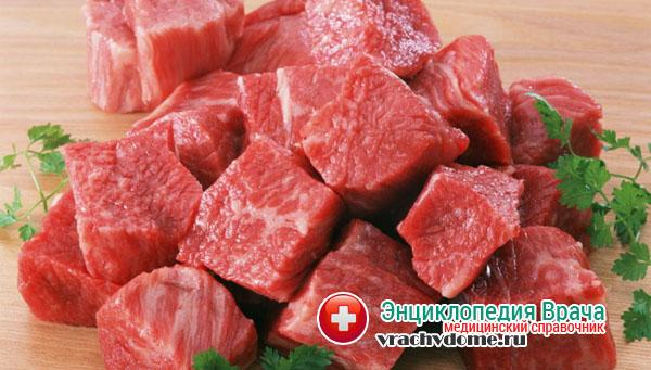 Продукты, в которых много белка входят в запрещенную категорию при заболевании