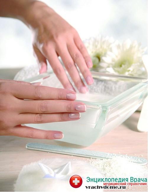 народные средства при грибке ногтей