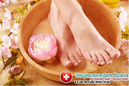 народные средства при натоптышах на ногах