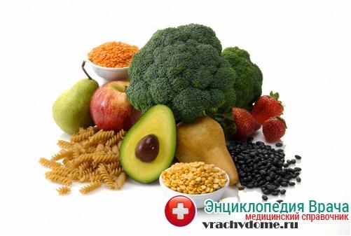 геморрой питание