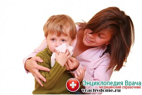 причины кашля ночью у ребенка