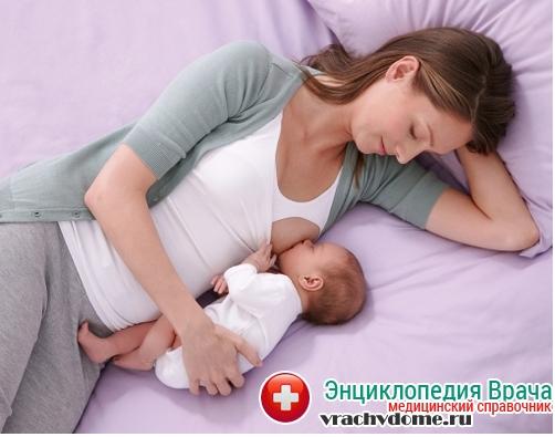 Лучшая профилактика - прикладывание ребенка по требованию к груди