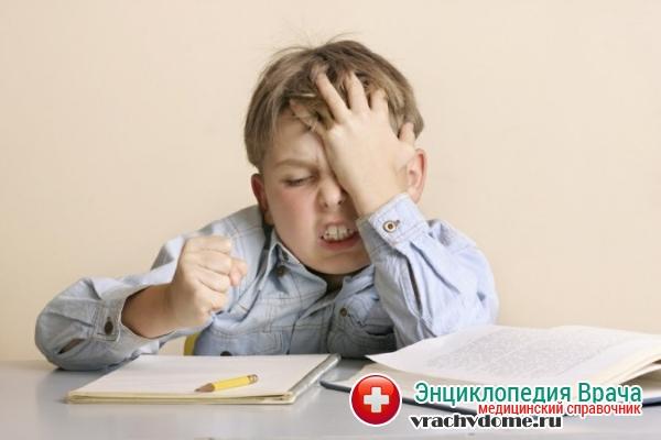 Стресс у детей - причина бруксизма
