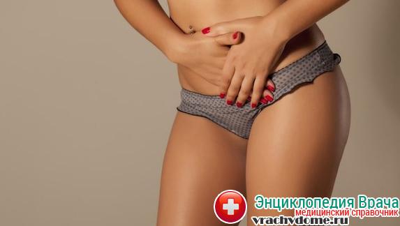 Зуд и жжение в промежности является симптомом вульвита
