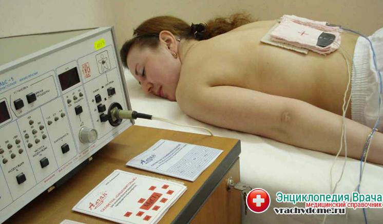 Электрофорез - один из методов лечения саркоидоза легких