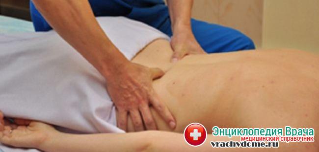 Мануальная терапия при грудном радикулите