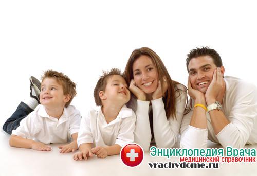 Спокойная обстановка в семье способствуют излечению болезни