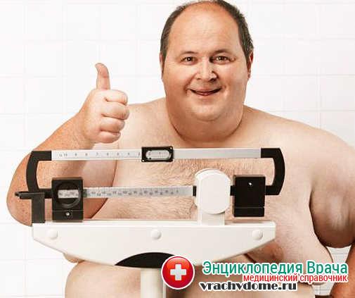 Ожирение - одна из причин болезни