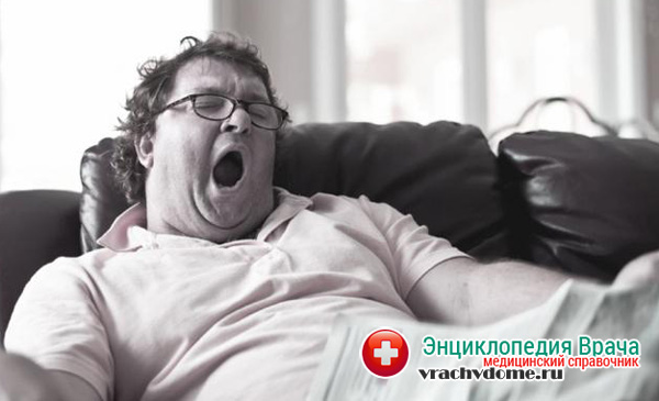 Сонливость при ожирении