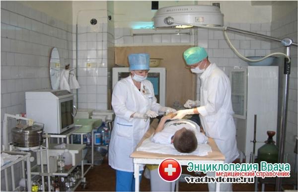 Лечение ботулизма в стационаре