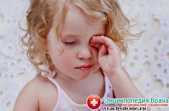 Сонливость как признак анемии у детей