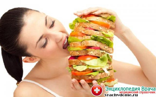 Неправильное питание и переедание - основные причины изжоги