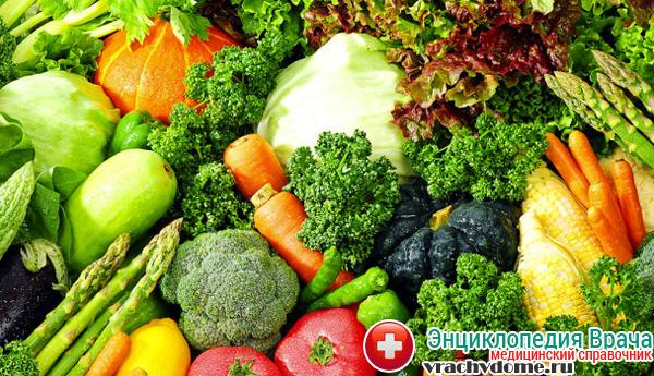 Полезные овощи и зелень