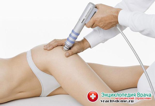 В лечении используют различные виды физиотерапевтических процедур