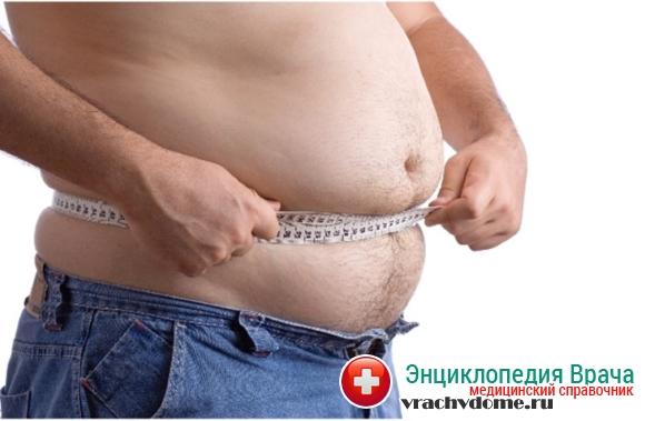 Избыточная масса тела или ожирение