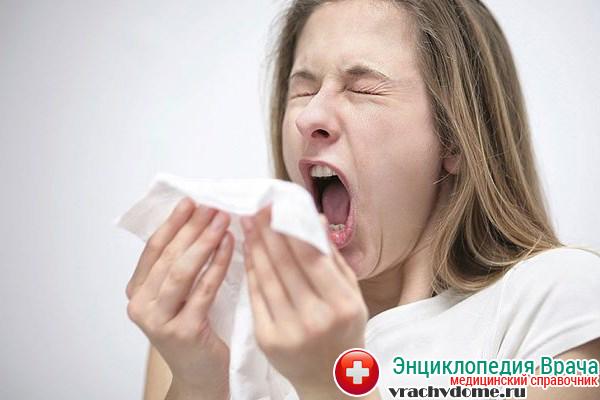 Чихание перед приступом астмы
