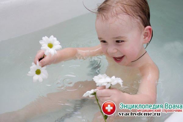 Теплые ванны хорошо помогают для расслабления бедренных мышц