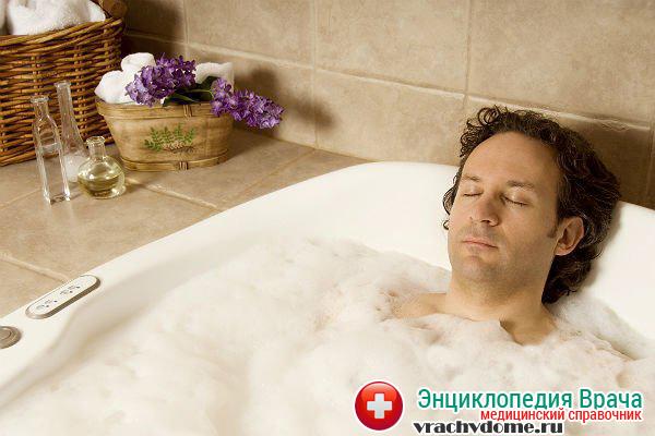 Горячая ванна для мужчин