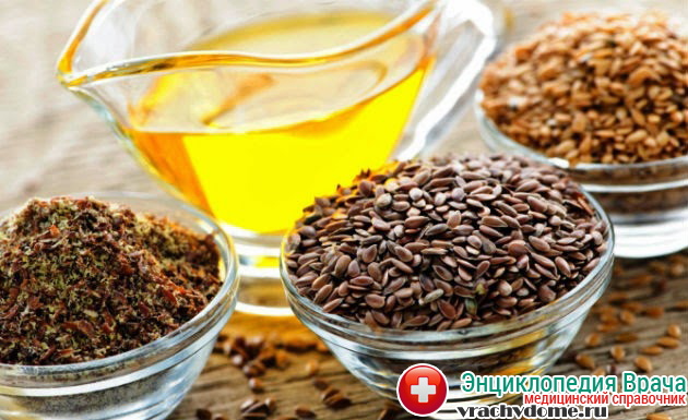 Льняное семя - эффективное средство от изжоги