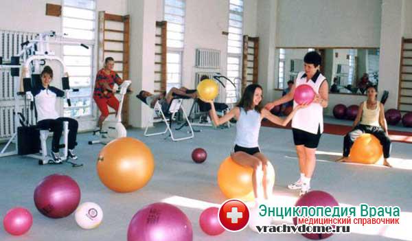 Лечебная физкультура при болезни