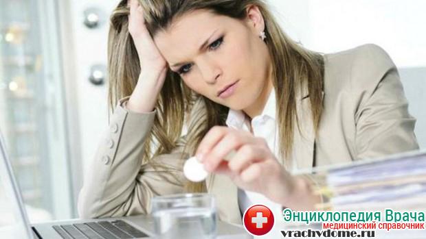Сильный стресс может спровоцировать возникновение болезни