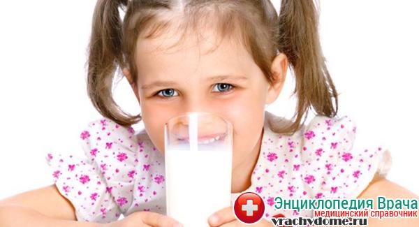 Молоко для детей