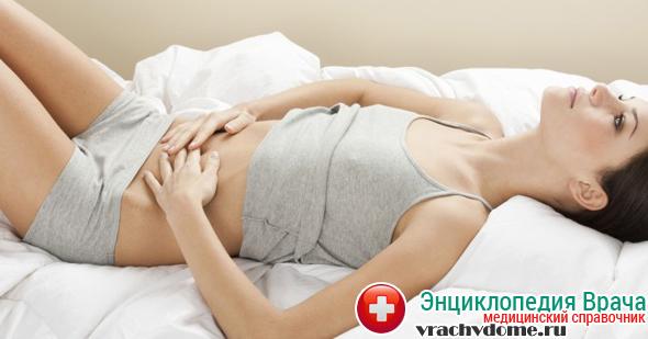 Ноющие боли в нижней части живота - симптомы болезни