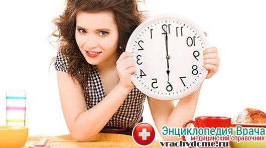 Нельзя употреблять пищу после 18-19 часов вечера