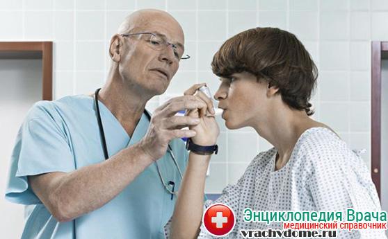 Помощь при приступе астмы
