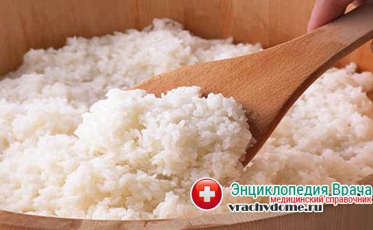 Из каш можно есть только рисовую