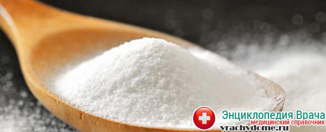 Сода - эффективное средство от изжоги