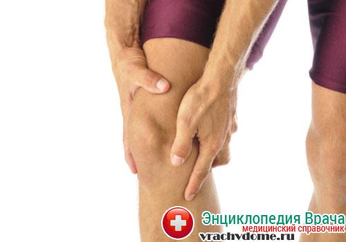 Тендинит коленного сустава чаще возникает у спортсменов от большой физической нагрузки