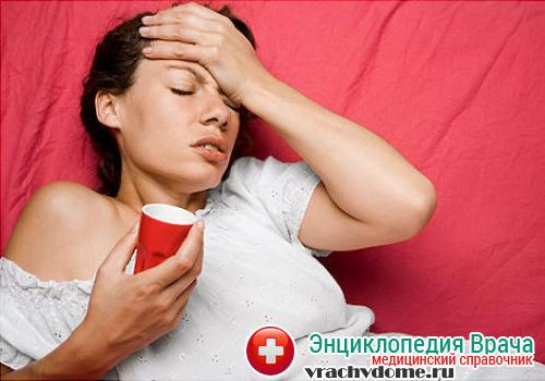 Головная боль, тошнота и рвота - основные симптомы гематомы головного мозга