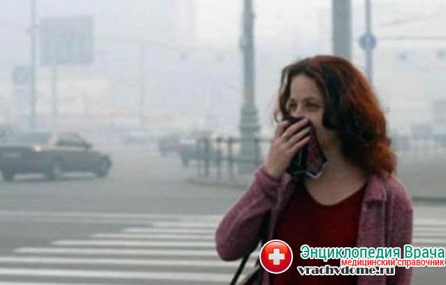 Плохая экологическая ситуация - одна из возможных причин саркоидоза легких